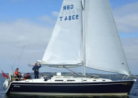 Hanse 411 'Bolero IV'. Training Vessel 1